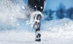 Utomhuslöpning på vintern