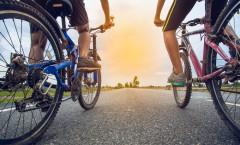 Cykling en skonsam träningsform