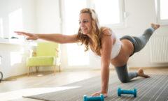 Hälsa och träning under graviditeten